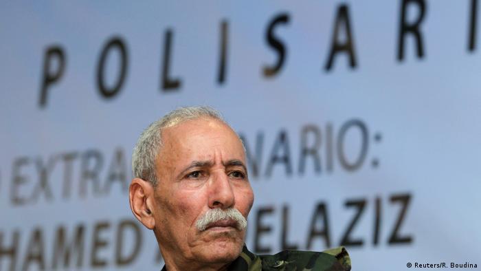 Secretario general del Polisario, Brahim Ghali, acogido en España para ser curado de COVID