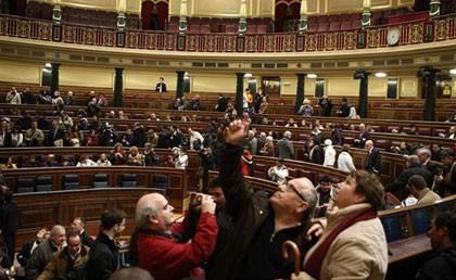 El Congreso abre sus puertas, pero acuden pocos ciudadanos