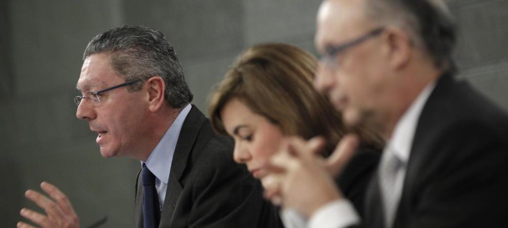 """Gallardón, un """"enemigo de la democracia"""" incrustado en el desconcertante gobierno de Rajoy"""