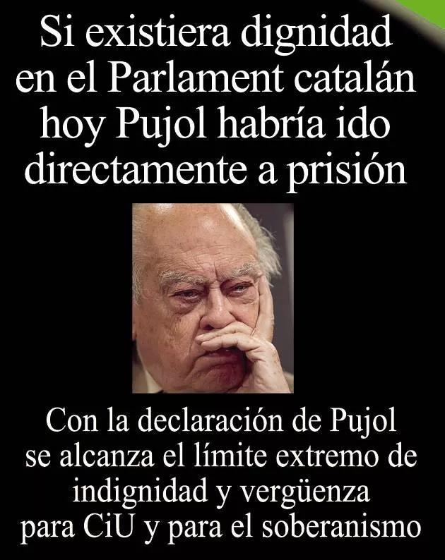 El nacionalismo catalán se arroja al delito