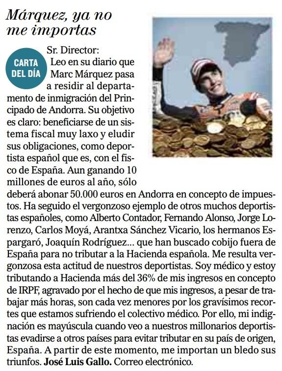 ¿A quien se debe rechazar a los hermanos Márquez, a Repsol o al gobierno de España?
