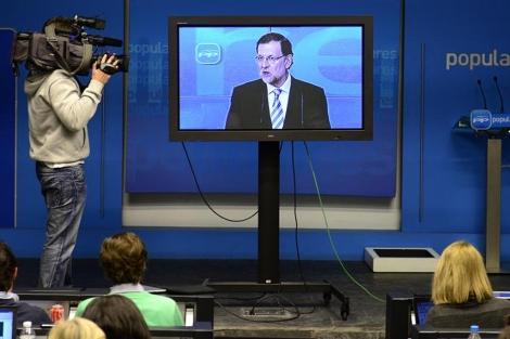 Samsung prepara un televisor que cambia de canal cuando sale el Rey o un político predeterminado