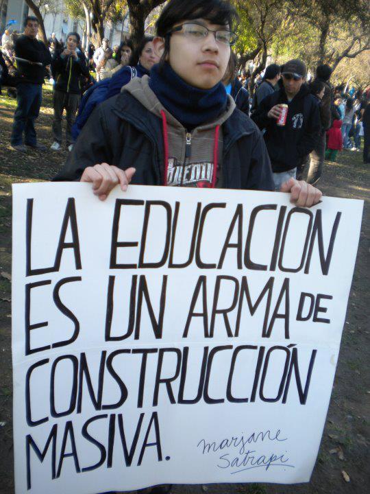 La educación, postrada y empobrecida, es la que podría cambiar el mundo