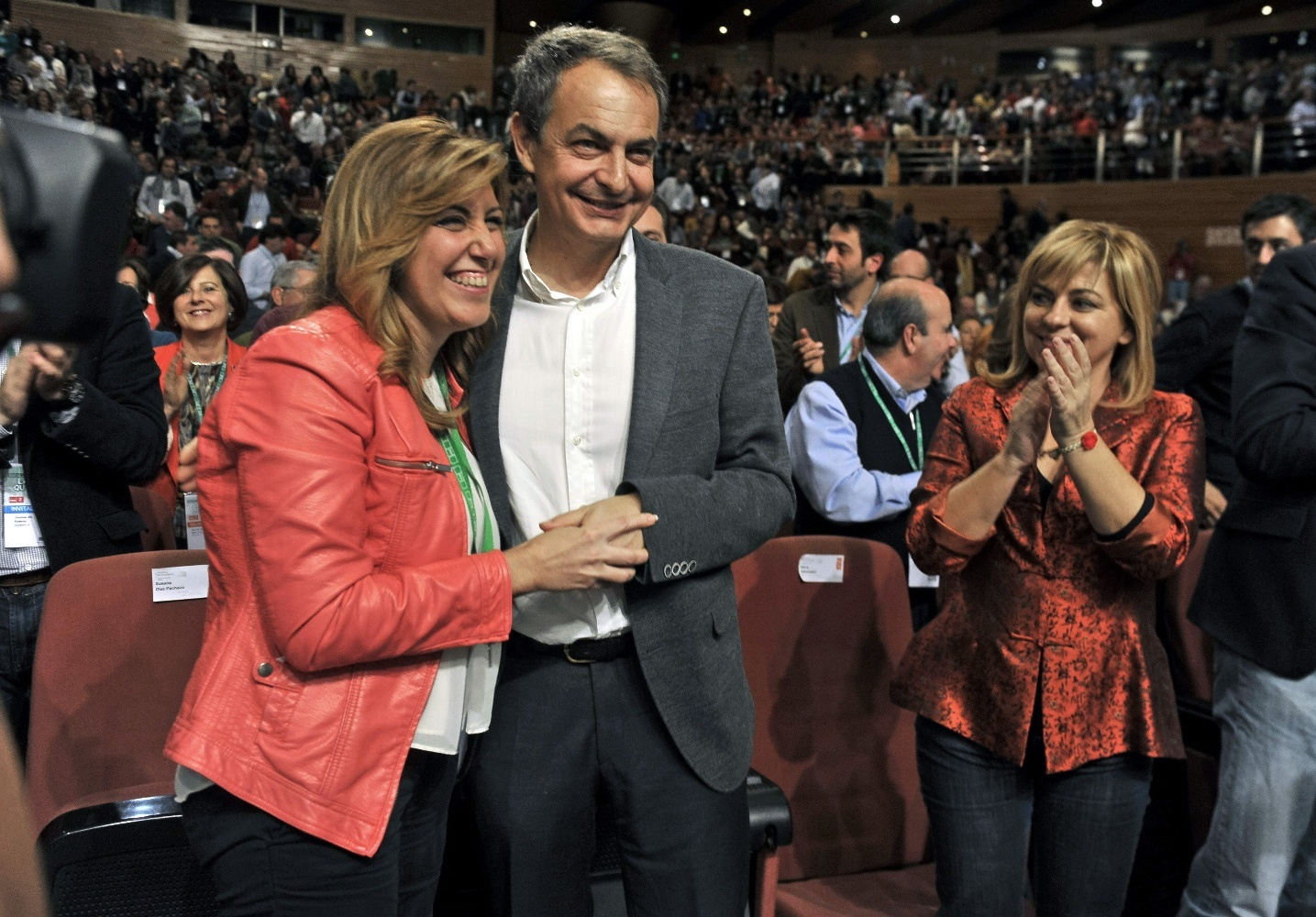 Zapatero, Chaves y Griñan arruinan la fiesta electoral andaluza de Susana