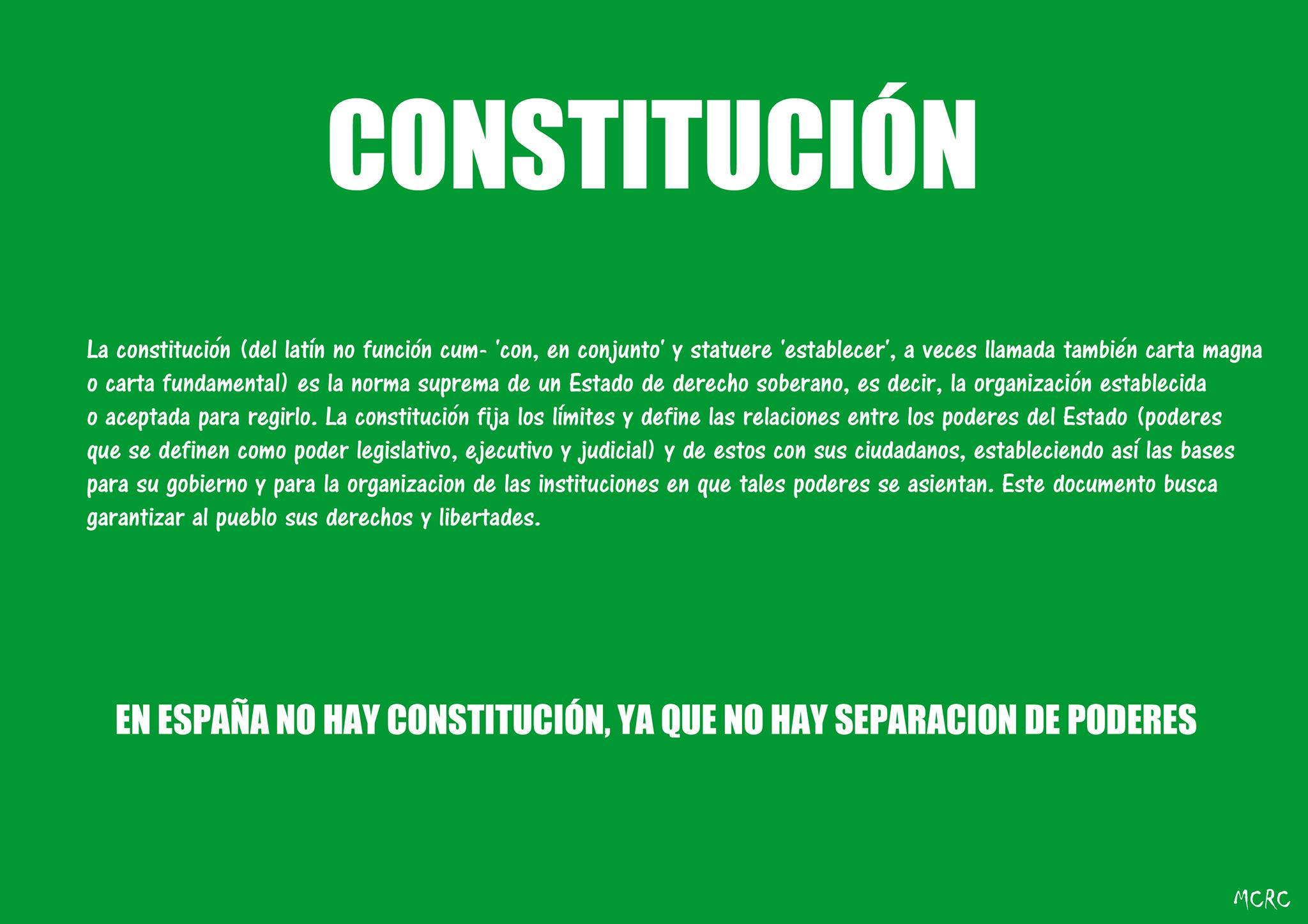 La Constitución de 1978 es un fracaso