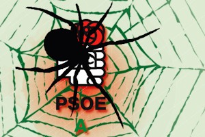La eficiente y pegajosa tela de araña socialista en Andalucía