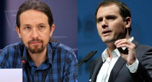"""""""Podemos"""" se equivoca al considerar """"enemigo"""" a Ciudadanos"""