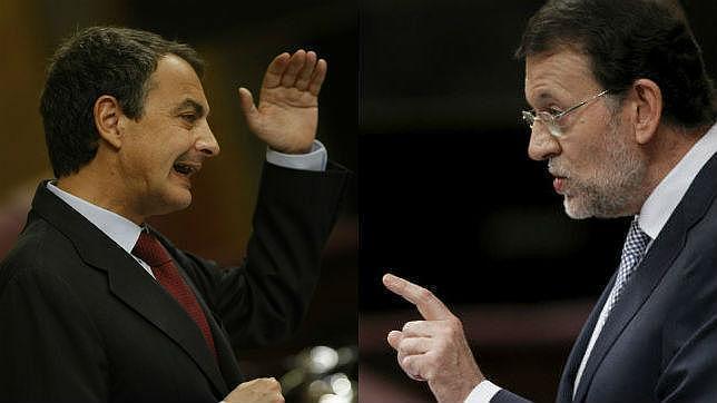 Rajoy y Zapatero, los grandes culpables de la degradación española