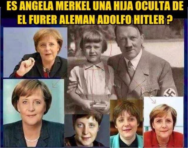 Una imagen de la campaña contra la dureza de Merkel en Internet