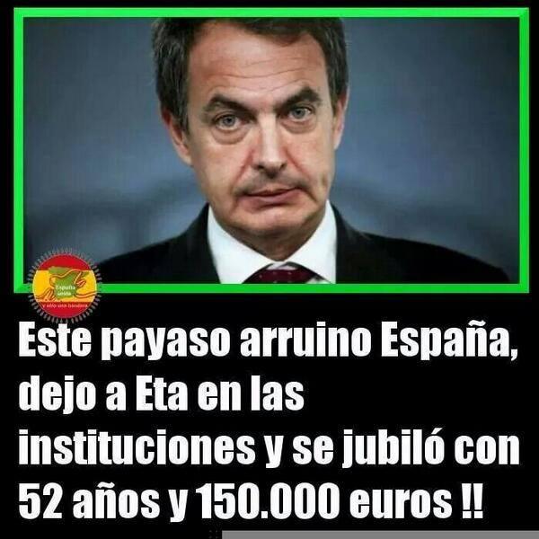 Zapatero: el payaso que destrozó España