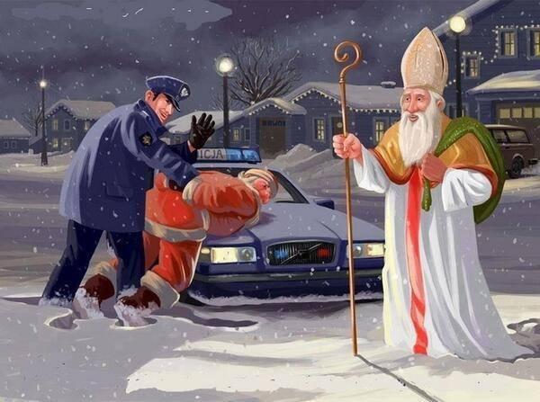 Santa Claus ha sido arrestado