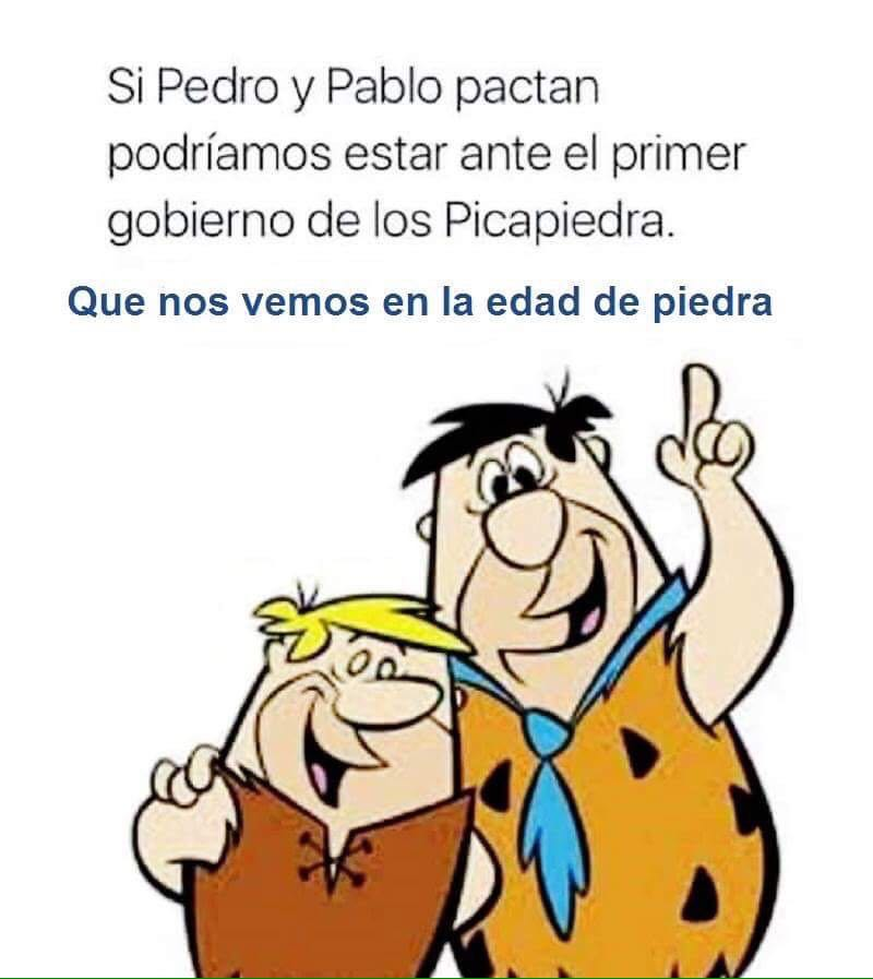 """El falso """"Progreso"""" y el gobierno de los Picapiedra"""