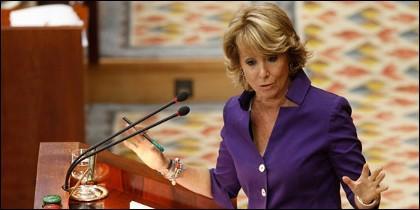 Esperanza Aguirre dimite para dar ejemplo y señala a Rajoy el camino a seguir