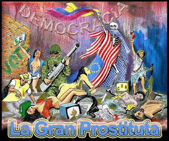 La democracia prostituida por los políticos