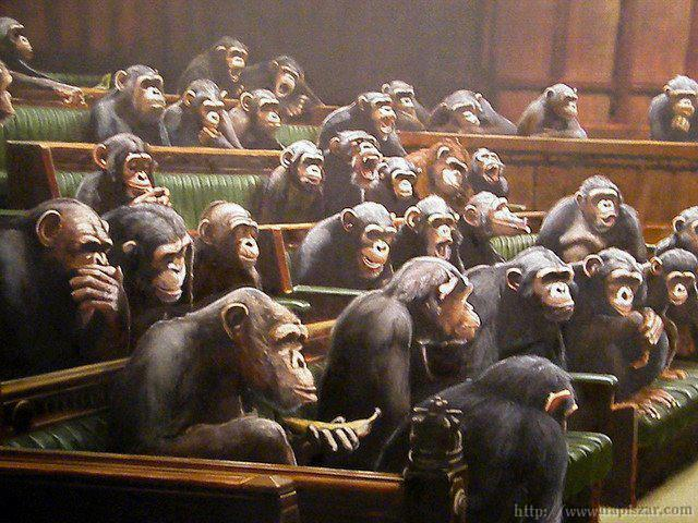 Parlamentos autonómicos españoles (ridiculización alegórica)