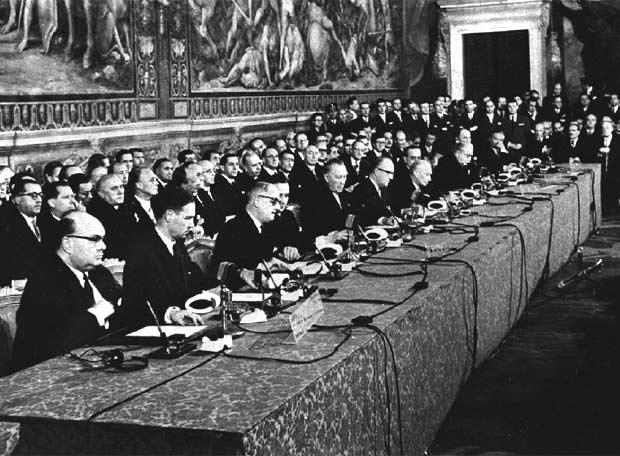 Los Tratados de Roma que iniciaron el proceso de unidad
