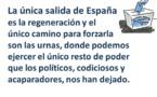 Carta a un ciudadano confundido, que cree que el pueblo es tan responsable como los políticos del drama español