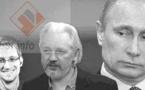 Snowden, Assange y Putin, tres aliados intoxicadores