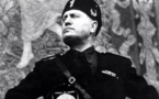 El duce Mussolini