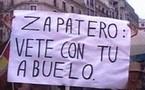 España: pitos e insultos al poder