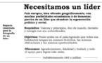 Muchos españoles dispuestos a aceptar un dictador, si es decente y capitanea la regeneración