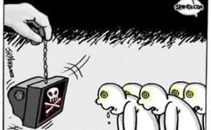 El papel vergonzoso de los medios de comunicación españoles ante la crisis