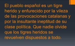 Los españoles, dominados por desalmados y rehenes de nuestra cobardía