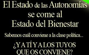 Avanza el rechazo al sistema autonómico y los españoles que no quieren autonomías son ya mayoría