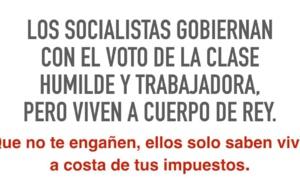 """Los """"miserables"""" no son sólo los socialistas, sino también todos los que han tocado poder en España"""