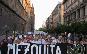 Piratas islamistas atacan una web sevillana que se opone a la construcción en Sevilla de la mezquita mayor de Europa