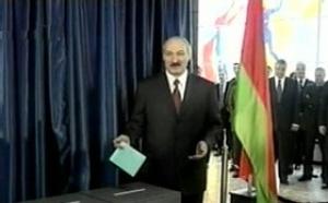 Bielorusia: farsa electoral antidemocrática