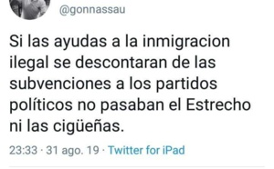 Luchemos, luchemos sin descanso, hasta que España sea una nación decente