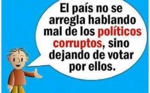 """Volvemos a publicar el mismo artículo, que consideramos vital para los demócratas españoles: """"Los políticos son peores que la gangrena y pudren todo lo que tocan""""."""