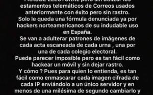 Las sospechas de fraude electoral inminente invaden las redes y generan profunda inquietud en España