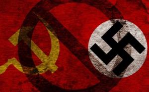 El mundo que nos quieren imponer es una mezcla diabólica de comunismo y fascismo, las dos doctrinas mas crueles y asesinas de la Historia.