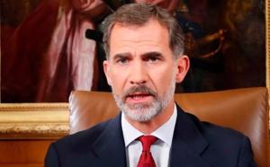 Los españoles, cansados de soportar a ineptos y corruptos en el poder, esperan las palabras del rey