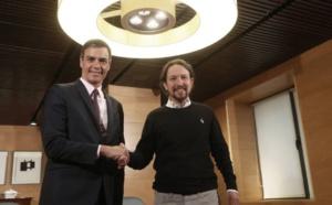 Sanchez e Iglesias, un pacto lleno de incertidumbres y amenazas