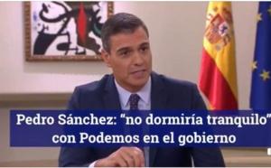 Sánchez transforma al PSOE en un degradado contubernio de intereses