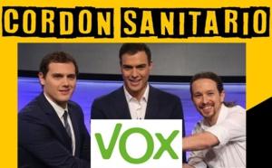 """Nadie merece más que Pedro Sánchez un """"cordón sanitario"""""""