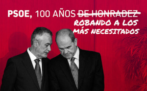 EN LOS 120 AÑOS DEL PSOE NO HA HABIDO NI UNO SÓLO DE HONRADEZ
