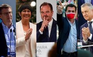 Pablo Iglesias y Pedro Sánchez han sido derrotados en Galicia y País Vasco