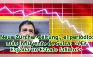 """Pedro Sánchez y el PSOE nos llenan el país de tontos y nos conducen hacia un """"Estado Fallido"""""""