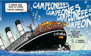 España es el paraíso de los mediocres. Tipos geniales como Forges dedicó cientos de viñetas a ridiculizar la mediocridad española
