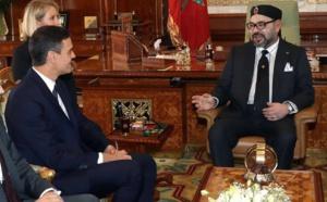 Dos sátrapas reunidos, pero el marroquí devora al torpe español