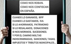 ESPAÑA: UN ESTADO SAQUEADOR