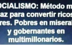 SIN MENTIRAS NO PUEDE HABER SOCIALISMO
