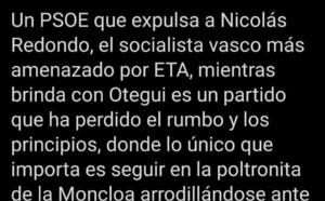 El sanchismo es la mayor tragedia del socialismo español desde su fundación