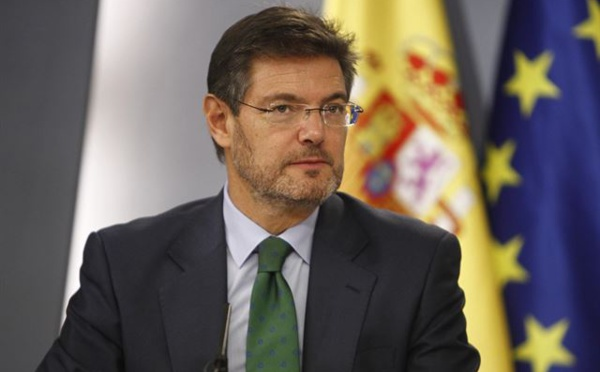 "DON RAFAEL CATALÁ , MINISTRO DE...""INJUSTICIA"""