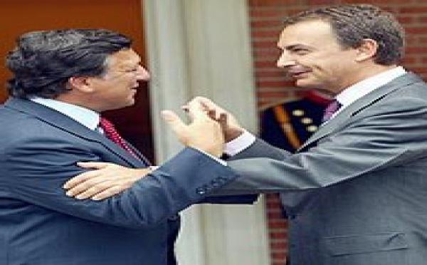 Zapatero brinda por la derrota