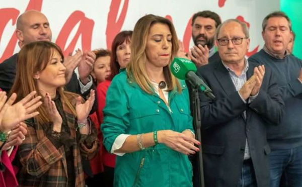 El pobre legado del PSOE andaluz